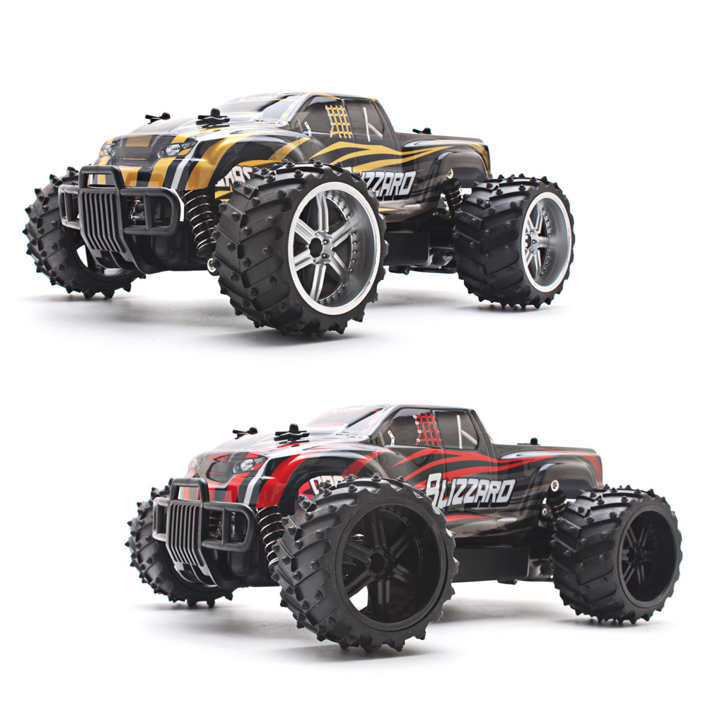 Electric RC Car 1:16 Off Road High Speed Remote Control Car Model Four Wheel Independent Plastic RC Car for Children Gift