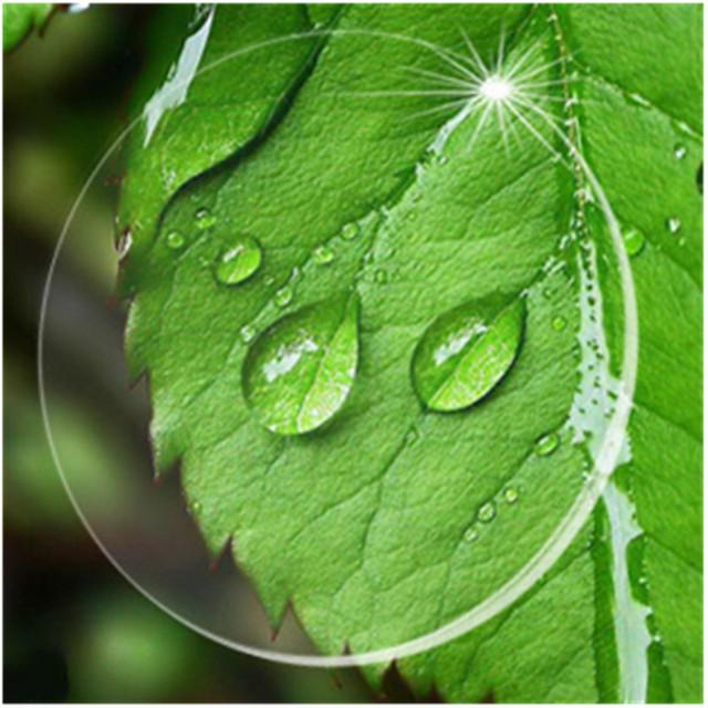 Índice 1.74 Asférico Duro Rasguño Anti Claro Lentes de Prescripción Óptica Lente Para Los Ojos Miopía