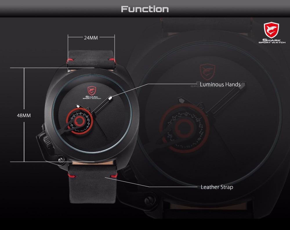 HTB1jmPMNXXXXXX0XXXXq6xXFXXX2 Tawny SHARK Sport Watch Red Date Luxury Watch