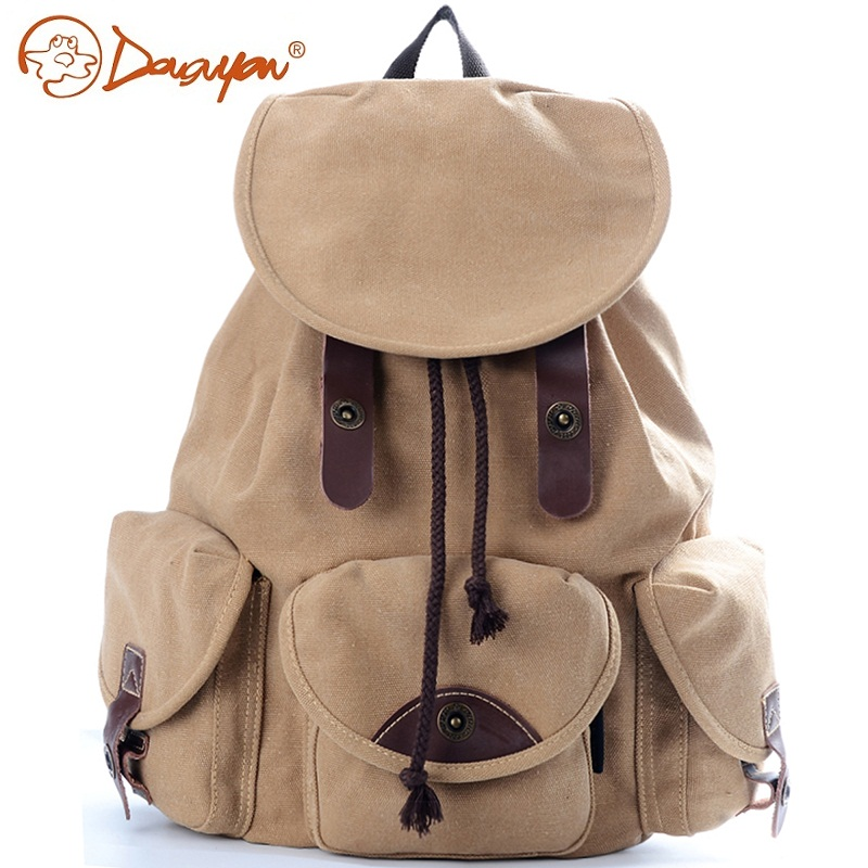 Douguyan Brand Women Teenagers Backpack Brone Backpack Casual Rucksack College High School Travel Daypack G00125D