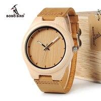 ציפור בובו WF10 אורן עץ מייפל עץ שעון חדש למעלה מותג יוקרה relojes mujer OEM קוורץ שעונים לגברים עם קופסא מתנה
