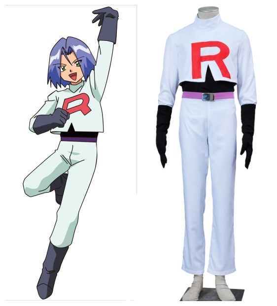 POCKET MONSTERS Kojiro James cosplay costumes