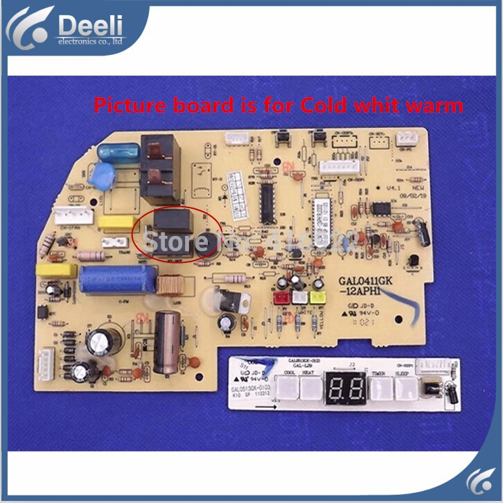 95% new good working for Galanz air conditioner motherboard GAL0411GK-12APH1 RJ0302 display board 2pcs/set холодильник galanz bcd 217t