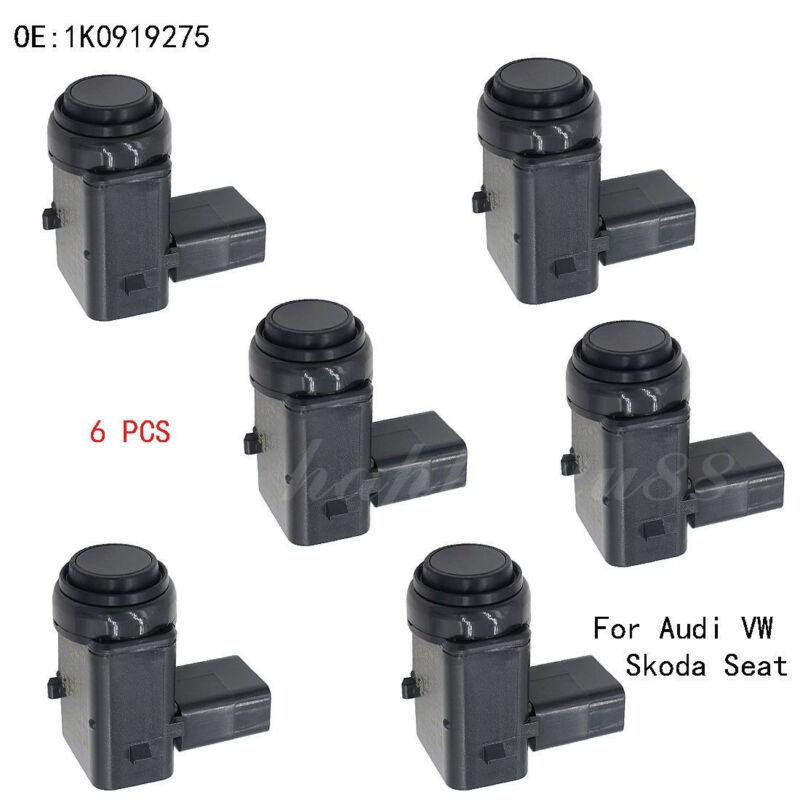 OEM Sensor 6 ชุด VW Phaeton สำหรับที่จอดรถ Touran 1K0919275 3D0998275A Touareg PDC