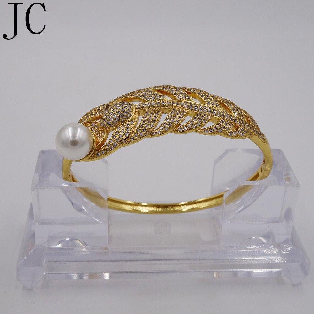 73f3e44a8 لؤلؤة أساور للنساء الأزياء لون الذهب والمجوهرات بالجملة متعدد الطبقات الكفة  الأساور أساور مجوهرات اللؤلؤ