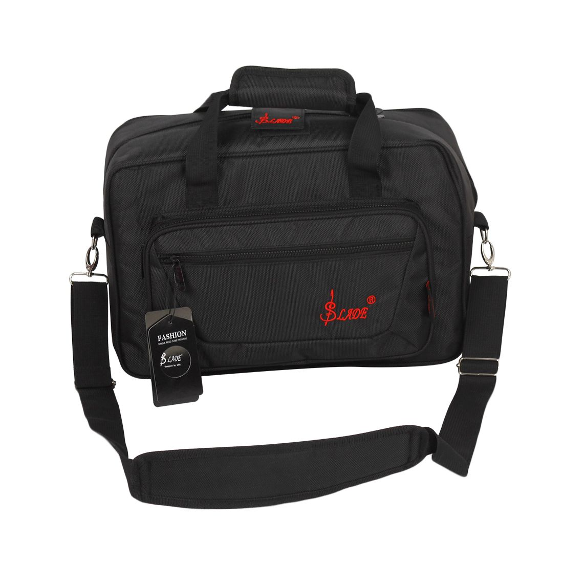 Systematic Slade Oboe Clarinet Soft Carrying Case Gig Bag Padding With Shoulder Strap High Quality And Inexpensive