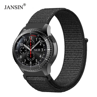 22mm 20mm Nylon Loop Band For Samsung Galaxy Watch 46mm/42mm/active 40mm strap For Samsung Gear S3/S2/sport/Huami Amazfit bands