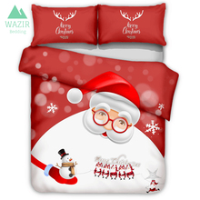 Halloween Witch Pumpkin Light 3D Bedding Set Duvet Cover Pillowcases Home Textile Bedclothes Christmas Comforter