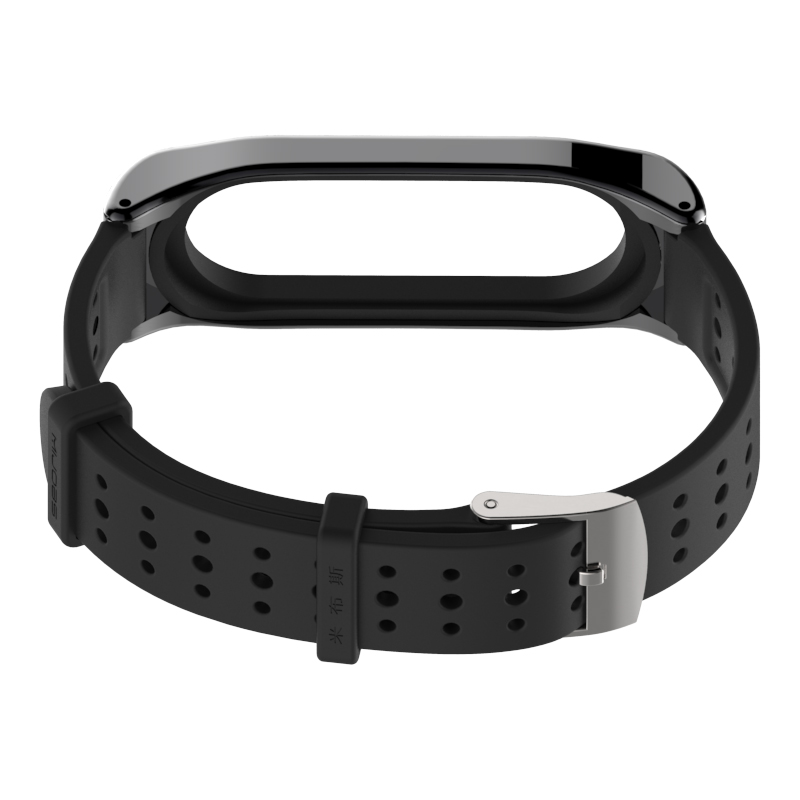 Image 2 - For Xiaomi Mi Band 3 Bracelet Strap Miband 3 Sports wristband Replacement strap For original Xiaomi Mi Band 3 Youth Strap-in Smart Accessories from Consumer Electronics