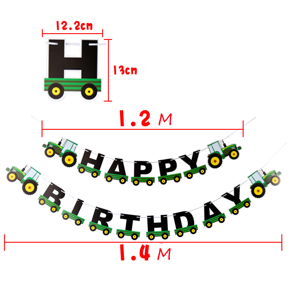 Farm-Theme-Felt-Happy-Birthday-Banner-Tractor-Cup-Cake-Topper-Construction-Vehicle-Birthday-Party-Decoration-Kids (1)