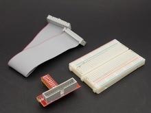 Raspberry Pi 3&Raspberry Pi 2 Model B T cobbler, expansion DIY kit (GPIO cable + breadboard + GPIO T-adapter plate)