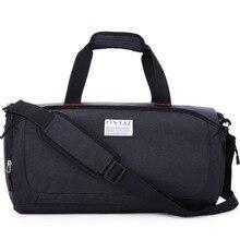Men Gym Bags Training Sports Bag Portable Fitness Shoulder Travel Outdoor Sports Shoes Women Independent Shoes Storage Bag недорого