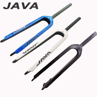 New JAVA 26 29 Inch Mountain Bike Full Carbon Fibre Bicycle Front Forks Disc Brake MTB