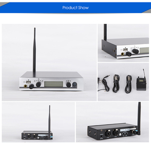 Image 5 - Top Quality! in ear monitor system Personal Monitoring System, Wireless in ear Monitor Professional for Stage Performance Church