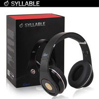 Syllable Noise Reduction Cancellation DJ Casque Headphone Hifi Stereo Wired Big Earphone Headset For IPhone IPod