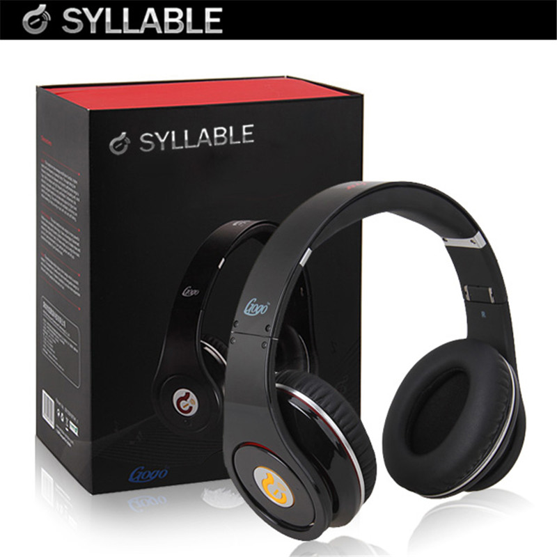 Syllable Noise Reduction Cancellation DJ Casque Headphone Hifi Stereo Wired Big Earphone Headset for iPhone iPod MP3 Blackberry чейнджер yatule hifi ipod usb