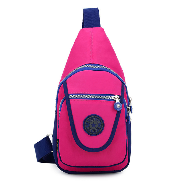Women Waist Packs Men Waist/chest Bag Shoulder  School Bags For Teenage Girls Female Canvas  Rucksack Fanny Pack