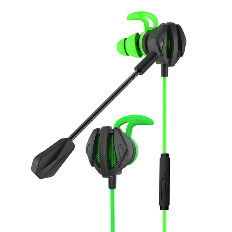 Gaming Headset Game Earphone Computer Headphones with Microphone In Ear Bass Noise Cancelling Earbuds for Phone PC Gaming