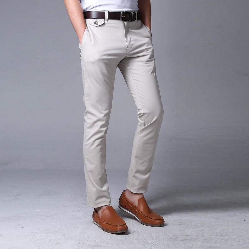 56b6a5f29a Paul Mogan pantalones casuales de algodón de Alta calidad marca moda hombres  pantalon homme gris para hombre pantalones de chándal para hombre pantalones  de ...