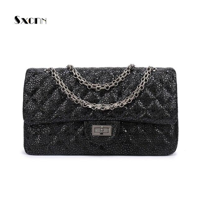 1e6f6763f97 SXCNN 100%Genuine leather women s Crossbody bag luxury handbags women bags  designer Fashion soft Shoulder