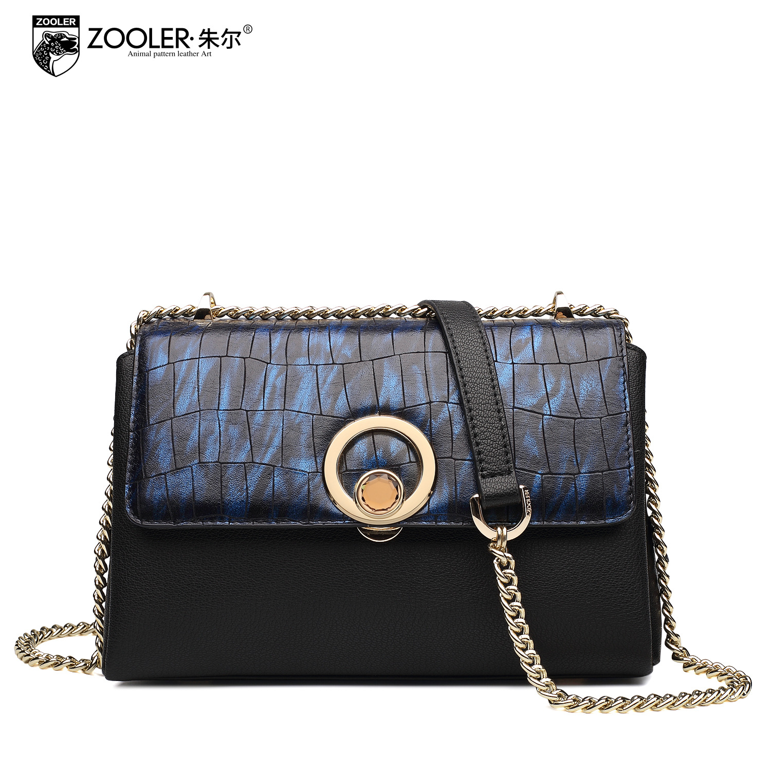 ZOOLER Women Chain Small Bag Female 2017 New Winter Genuine Leather Handbags Fashion Messenger Shoulder Bags Lady Bolsa Feminina vm fashion kiss genuine leather serpentine chain small messenger bags for women high quality mini shoulder bags falp bag lady