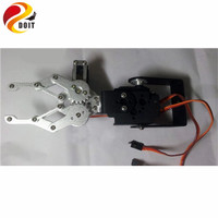 DOIT 2DOF Degrees of Freedom Mechanical Arm Robotic Claw Machine Hand Holding Clamp Vehicle Steering Kit Accessory