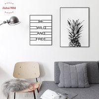 Nordic Pineapple Canvas Art Print Poster Wall Pictures For Home Decoration Wall Art Decor NOR5
