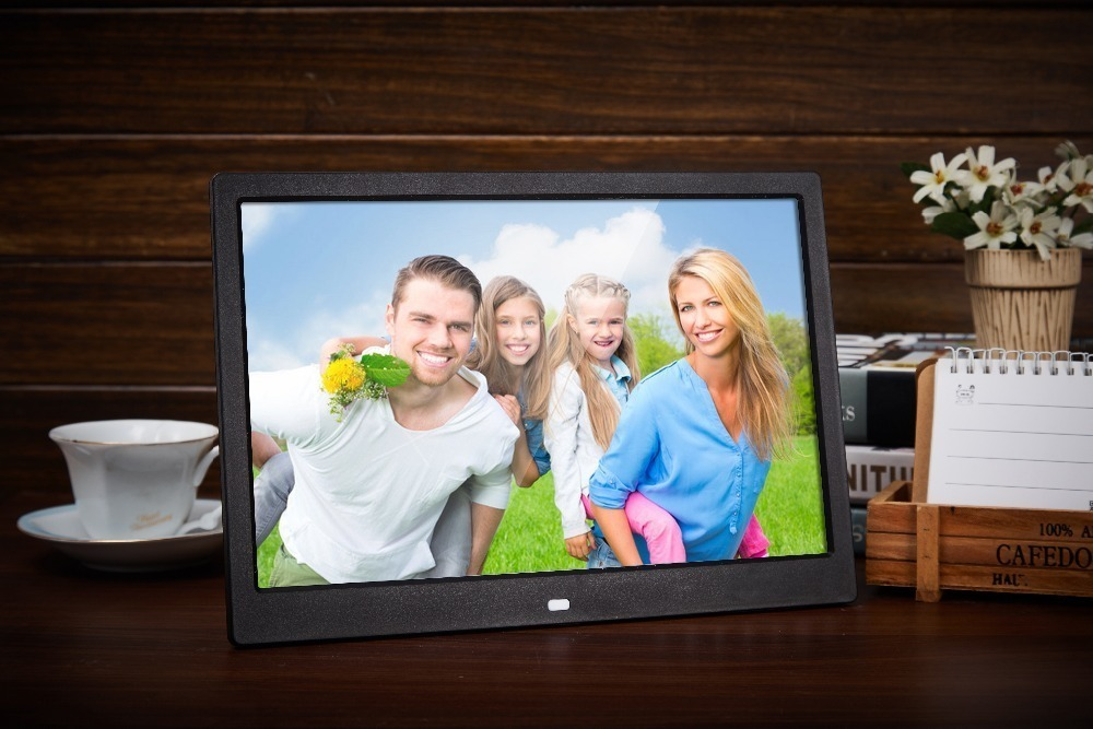 Liedao 12 Inch Digital Photo Frame TFT Screen LED Backlight HD 1280*800 Electronic Album Picture Music Mp3 Video Mp4 Good Gift 6