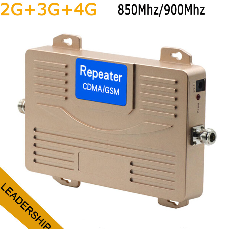 Dual Band HUIBO HB CDMA+GSM 850Mhz/900Mhz 2G 3G 4G Mobile Phone Cell Phone Repeater Signal Booster Amplifier
