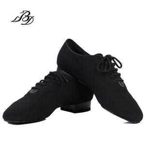 69e3c788aed882 2.5 CM Dance Shoes Modern Men Genuine Leather Square BD 309 Party Ballroom  Latin