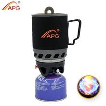 APG 2016 900 ml Sistema de fuego para cocinar y quemadores de gas portátil estufa de camping gas