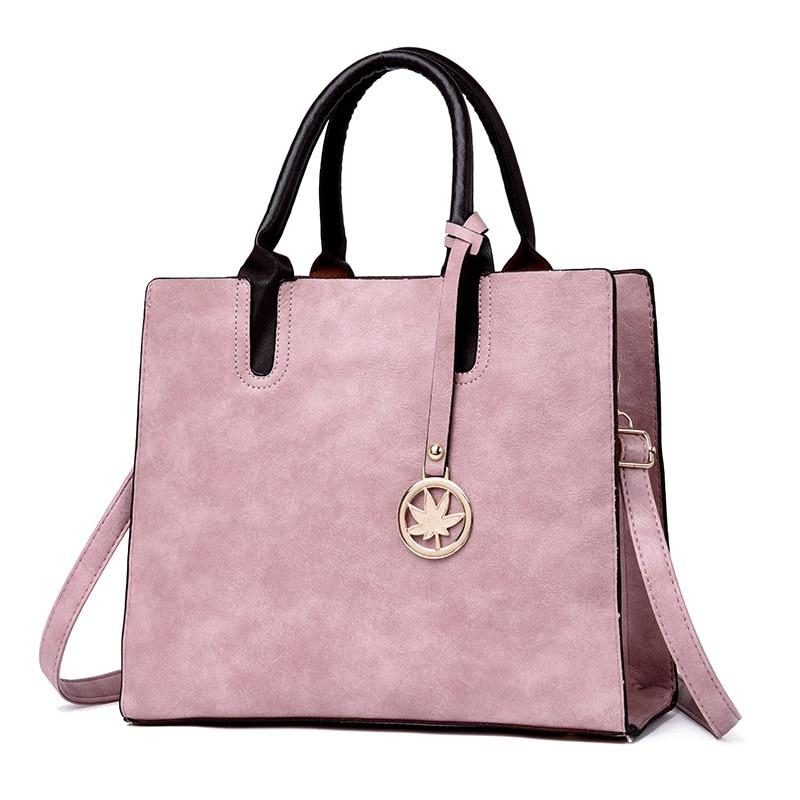 Female Leather Shoulder Bags 1