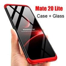 3-in-1 Plastic 360 Hard Full Tempered Glass + Case for