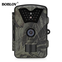 Boblov CT008 12MP 1080P Infrared Hunting Camera Wildlife Farm Game Scouting Cam Night Vision Digital Trail Hunting Camera Device