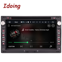Idoing Steering Wheel 2Din Android 7 1For VW Volkswagen Passat B567 DVD Car Multimedia Player Quad