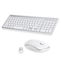 Landas Wireless Mouse And Keyboard For PC Desktops Scissor USB 2.4G Mouse Keyboard Wireless Combo For Laptop Office Home