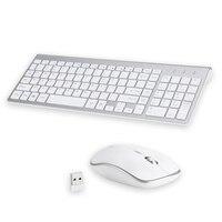 Landas Wireless Mouse And Keyboard For PC Desktops Scissor USB 2.4G Mouse Keyboard Wireless Combo For Laptop Office Home