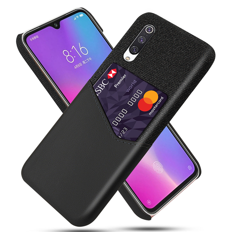 New Fashion Anti-fall Leather Case With Card Holder For Xiaomi 9 Lite CC9E 8 Phone Shell Protective Cover For Redmi 7A 8 8A K20