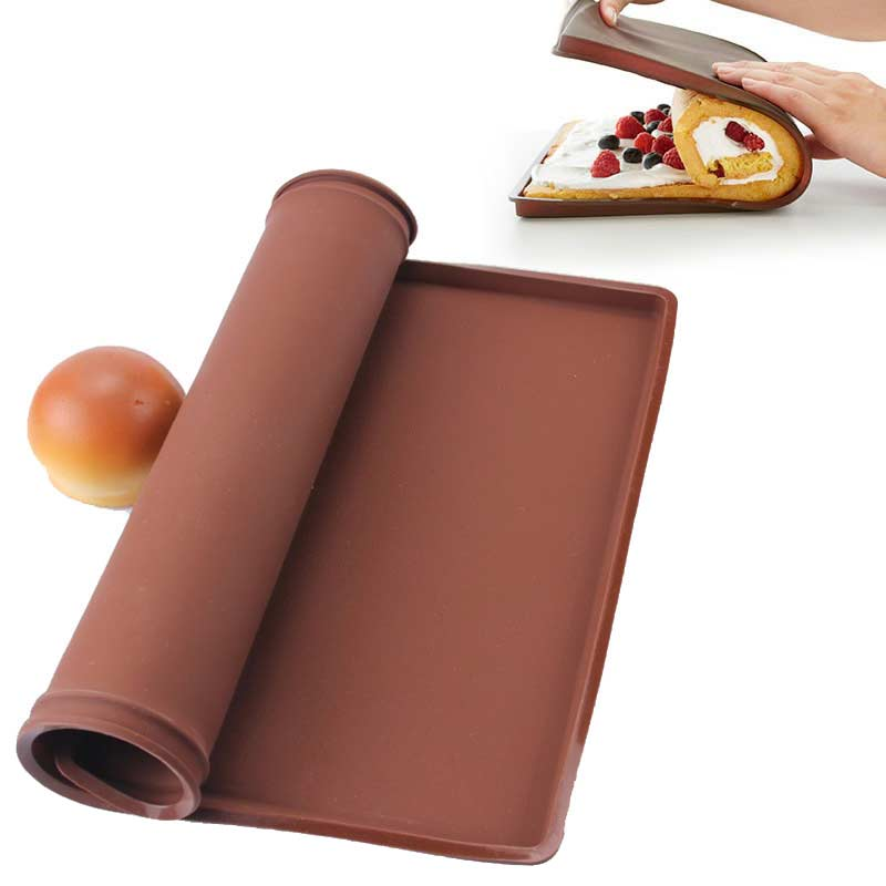 non stick silicone multifunction oven mat baking cake pad swiss roll pad bakeware baking tools. Black Bedroom Furniture Sets. Home Design Ideas
