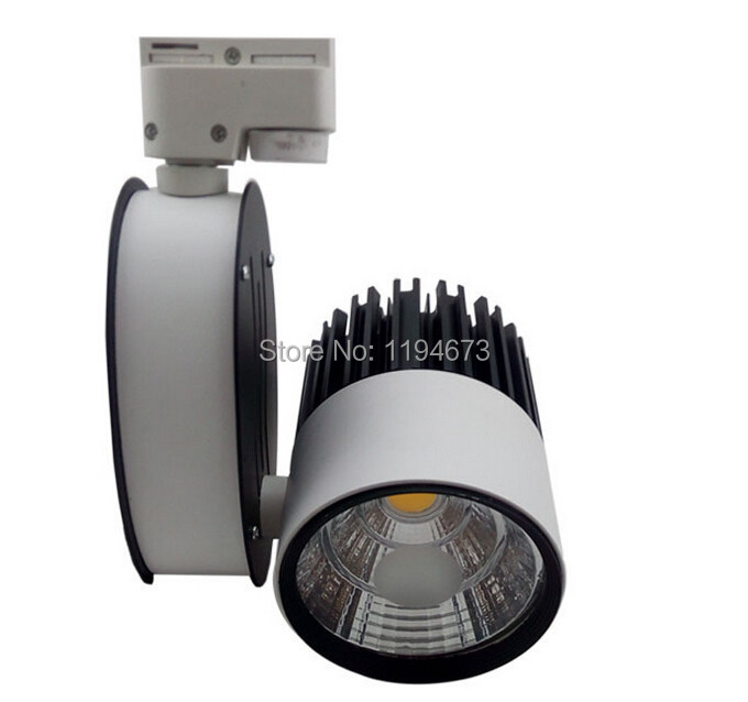 ФОТО Free Shipping COB 30W Warm Cold White  integrated LED tracking light LED Spot AC85-265V CE ROHS  SAA