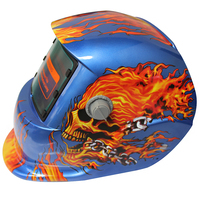 Cráneo ardiente Ajustar Solar Molienda Cascos De Soldadura de Oscurecimiento Automático de MIG TIG/Mascarilla/Máscara de Soldadura Eléctrica Tapa