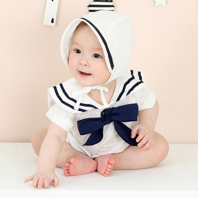 4847e23c21b Summer Girl Boy Baby Fashion Princess Cute White Cotton Basin Breathable Court  Hat Cap Newborn Baby