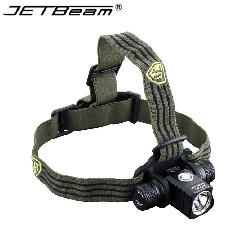 NEW Jetbeam HR25 headlamp Cree XM L2 800 Lumens 18650 font b headlight b font 1PCS
