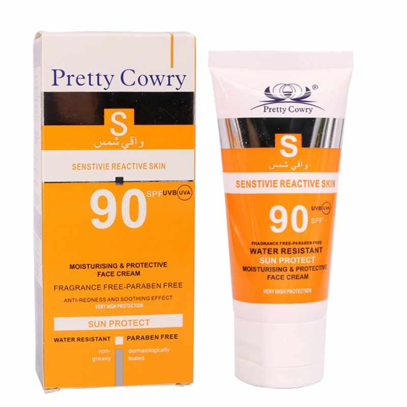 SPF90 ครีมกันแดด Skin Care Moisturizing Whitening Waterproof Beauty Face Cream