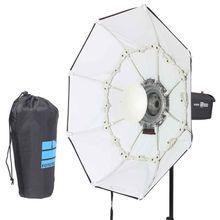 100 centimetri BIANCO Portatile Pieghevole Bellezza Piatto Octagon Softbox Bowens Mount per Bowens godox studio flash