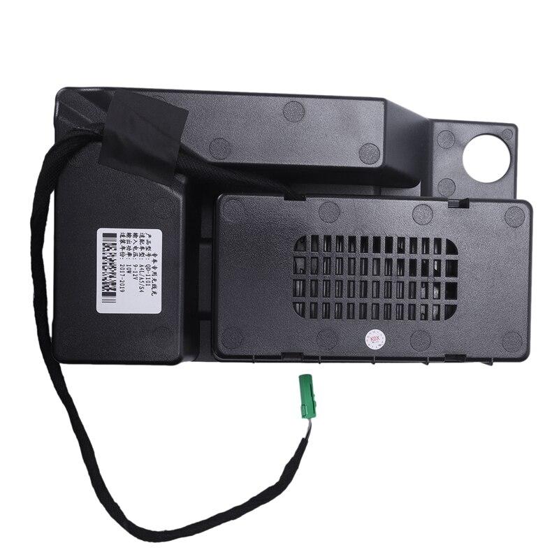10 Вт автомобильный мобильный телефон Qi беспроводной зарядный Модуль консоль коробка для хранения для Audi A4L A5 S4 2017 2019 автомобильные аксессуа... - 5