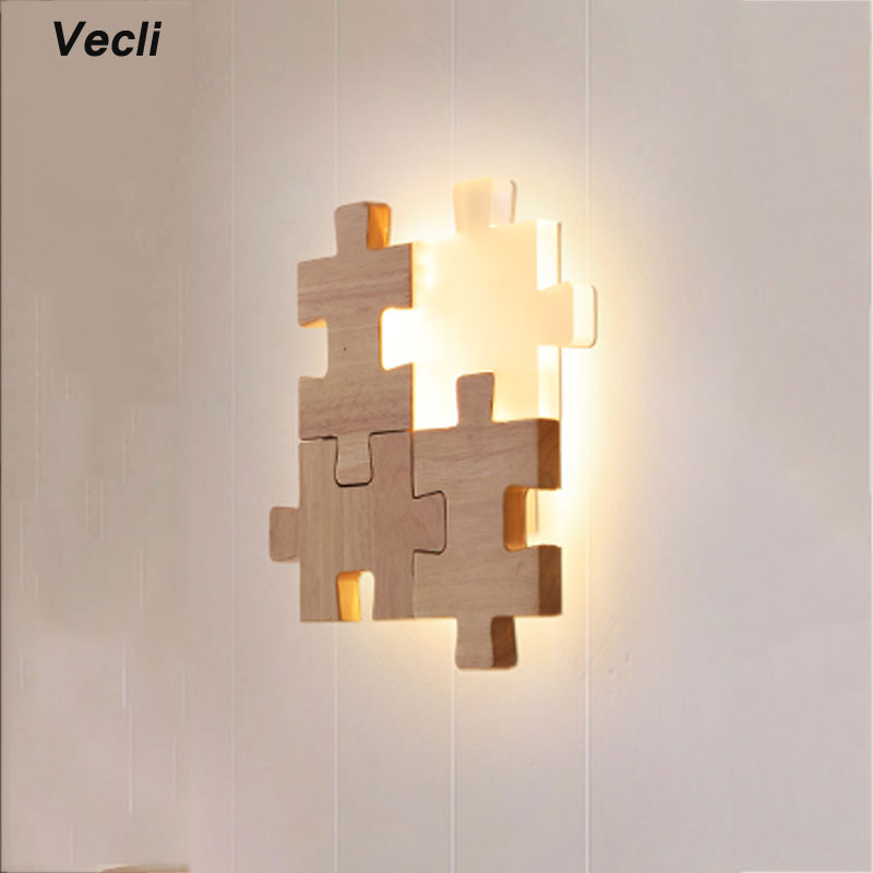Aisle porch bedside modern lighting living room study bedroom aplique luz pared creative LED wall lamp