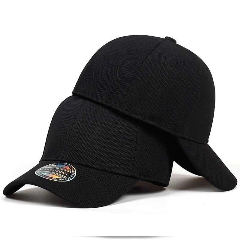 High Quality Baseball Cap Men Snapback Hats Caps Men  Fitted Closed Full Cap Women Gorras Bone Male Trucker Hat Casquette