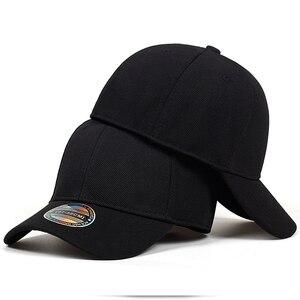 High Quality Baseball Cap Men Snapback Hats Caps Men Fitted Closed Full Cap Women Gorras Bone Male Trucker Hat Casquette(China)