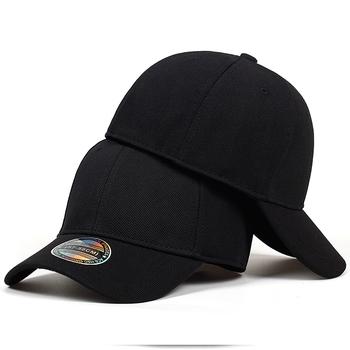 Wysokiej jakości czapka z daszkiem mężczyźni czapki z prostym daszkiem czapki mężczyźni wyposażone zamknięty czapka z daszkiem kobiety Gorras kości mężczyzna czapka typu Trucker Casquette tanie i dobre opinie Dla dorosłych COTTON Unisex Na co dzień Czapki z daszkiem BQ105 Jeden rozmiar Stałe